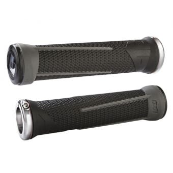 ODI Aaron Gwin AG-1 Signature Lock-on Grips Black/Grey