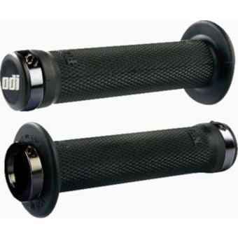 ODI Ruffian Lock On BMX Grips Black