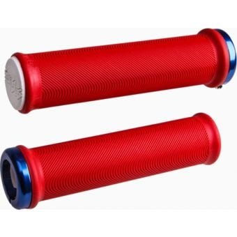 ODI Sensus Lite V2.1 Lock On MTB Grips Red/Blue