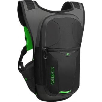 OGIO Atlas 3L Hydration Pack Black/HiViz Green