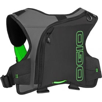 OGIO Erzberg 1L Hydration Pack Black/HiViz Green