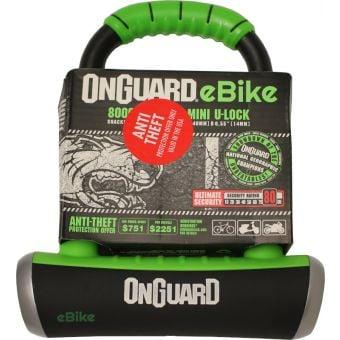OnGuard Pitbull e-bike Series Keyed Mini U-Bicycle Lock
