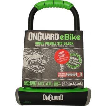 OnGuard Pitbull Standard e-bike Series Keyed U-Bicycle Lock