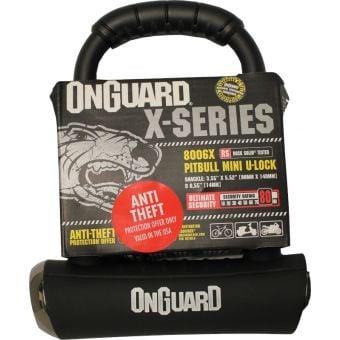 OnGuard Pitbull X-Series Mini Bicycle U-Lock