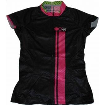 OORR Cafe Pro SS Womens Jersey Black/Pink Ultralight X-Small
