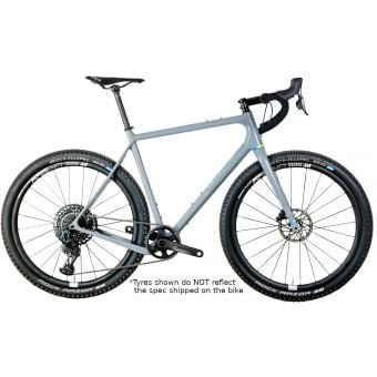 "Open WI.DE. SRAM AXS Force 27.5"" Complete Gravel Bike Grey"