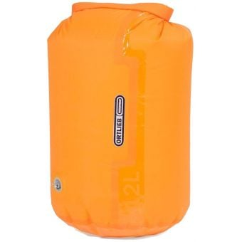 Ortlieb 12L PS10 Compression Dry Bag with Valve Orange