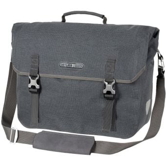 Ortlieb 20L Two Urban QL2.1 Commuter Pannier Bag Grey Pepper