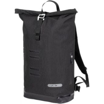 Ortlieb 21L Commuter Daypack High Visibility Reflective Black