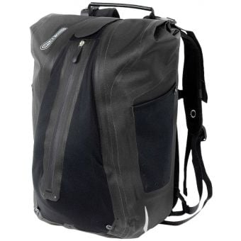 Ortlieb 23L Vario QL3.1 Pannier Bag Backpack Black
