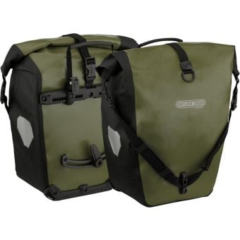 Ortlieb 40L Back Roller Classic Panniers (Pair) Olive/Black
