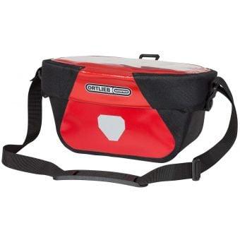 Ortlieb 5L Ultimate6 Classic Handlebar Bag Red/Black