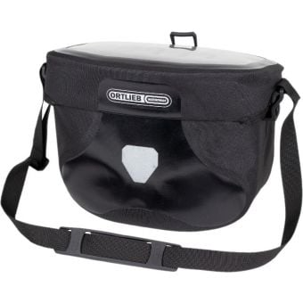 Ortlieb 6.5L Ultimate Six PVC Free Handlebar Bag (Without Mount) Black