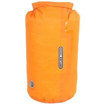 Ortlieb 7L PS10 Compression Dry Bag with Valve Orange