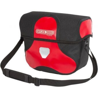 Ortlieb 7L Ultimate Six Classic Handlebar Bag (Without Mount) Red/Black