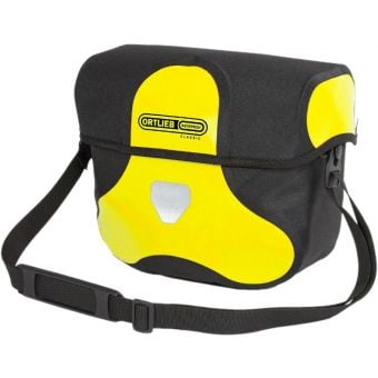 Ortlieb 7L Ultimate Six Classic Handlebar Bag (Without Mount) Yellow/Black