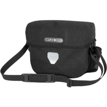 Ortlieb 7L Ultimate Six High Visibility Handlebar Bag (Without Mount) Reflective Black