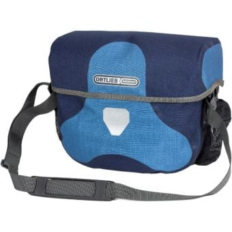 Ortlieb 7L Ultimate Six Plus Handlebar Bag (Without Mount) Denim/Steel Blue