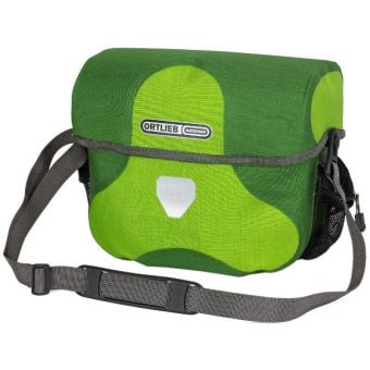 Ortlieb 7L Ultimate Six Plus Handlebar Bag (Without Mount) Lime/Moss Green