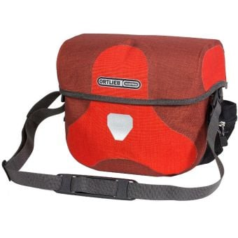 Ortlieb 7L Ultimate Six Plus Handlebar Bag (Without Mount) Signal Red/Dark Chili