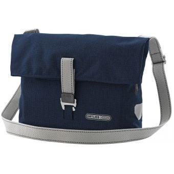 Ortlieb 9L Twin-City Urban QL2.1 Pannier/Shoulder Bag Blue Ink