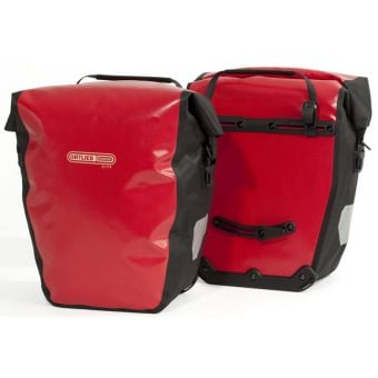 Ortlieb Back Roller City Pannier Bags Red