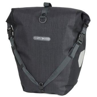 Ortlieb Back-Roller Plus QL2.1 Pannier Bag (Pair) Granite/Black