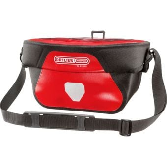 Ortlieb Ultimate Six Classic 5L Handlebar Bag Red (Mounting Bracket Required)