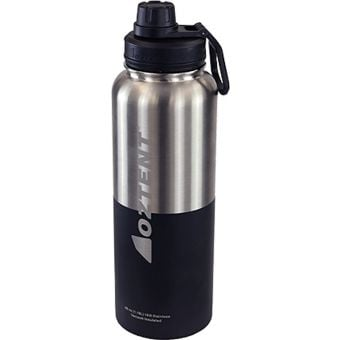 Oztent Alpine 1180ml Stainless Vacuum Insulated Bottle Silver/Black