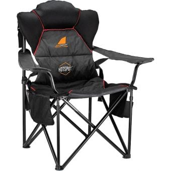 Oztent Red-Belly HotSpot Heated Ultra-Lite Chair
