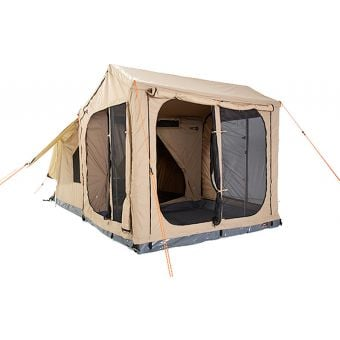 Oztent RX-5 Family Tent including Living Room and Zip-In Floor
