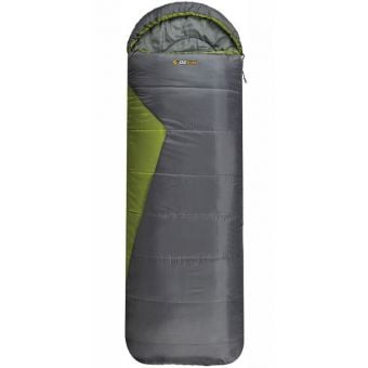 OZtrail Blaxland Jumbo Hooded -5C Sleeping Bag Green/Grey