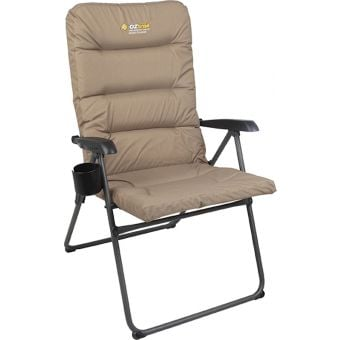 OZtrail Coolum 5 Position Recliner Armchair
