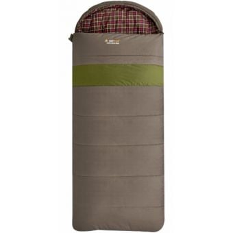 OZtrail Cotton Canvas Mega Hooded -12C Sleeping Bag Khaki