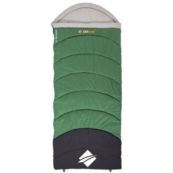 OZtrail Kingsford Hooded Sleeping Bag 0