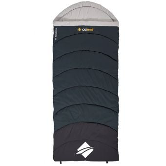 OZtrail Kingsford Hooded Sleeping Bag -3