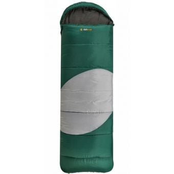 OZtrail Lawson Hooded -5C Sleeping Bag Green/Grey