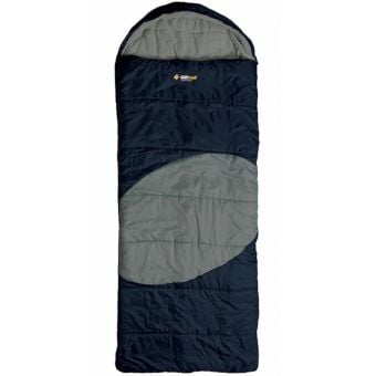 OZtrail Lawson Jumbo Hooded -5C Sleeping Bag Blue/Grey