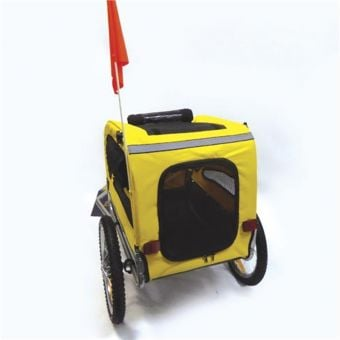 Pacific Pet Trailer Yellow