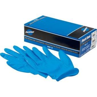 Park Tool MG-2 Nitrile Mechanic Workshop Gloves 100pcs Blue X-Large