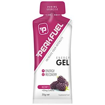 PeakFuel Energy Gel 35g Berry + 30mg Caffeine