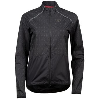 Pearl Izumi BioViz Womens Barrier Jacket Black/Reflective 2020