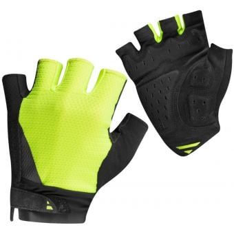 Pearl Izumi Elite Gel Fingerless Gloves Screaming Yellow 2020
