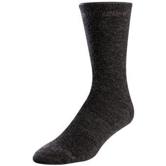 Pearl Izumi Merino Wool 19cm Tall Socks Phantom Core