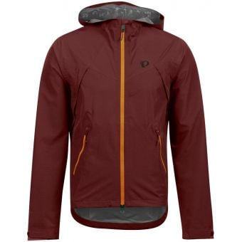 Pearl Izumi Monsoon WxB Hooded Jacket Garnet/Lava 2020