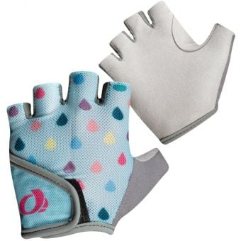 Pearl Izumi Select Fingerless Kids Gloves Air Blue/Raindrop Grey 2020