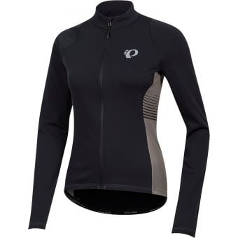 Pearl Izumi Select Pursuit Womens LS Thermal Jersey Black/Smoked Pearl Diffuse
