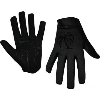 Pedal Palms Blackout Cold Weather Full Finger Gloves Black
