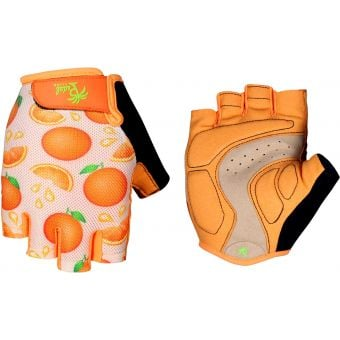 Pedal Palms Orange Crush Fingerless Gloves Orange/Pink