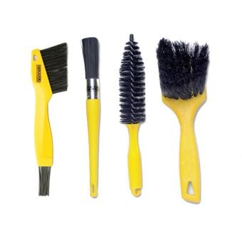 Pedros Pro Bike Cleaning Brush Kit